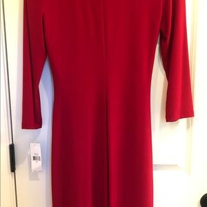 American Living Dresses - NWT AMERICAN LIVING FAUX WRAP STRETCH DRESS SZ 6